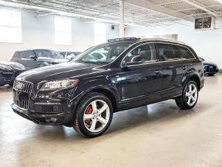 Used 2011 Audi Q7 S LINE/NAVI/7PASS/DIESEL/PANO/LOADED! for sale in Toronto, ON