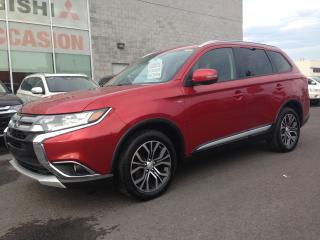 Used 2016 Mitsubishi Outlander SE TOURING | V6 AWD | 7 PLACES | TOIT | CAMÉRAS | for sale in St-Hubert, QC