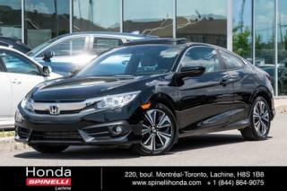 Used 2016 Honda Civic EX-T 1.5 TURBO TOIT MAGS for sale in Lachine, QC