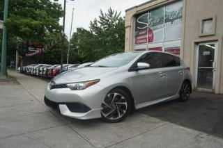 Used 2017 Toyota Corolla iM Hayon 4 portes BM for sale in Laval, QC