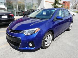 Used 2016 Toyota Corolla S  * A/C**SIÈGES SPORTS CHAUFFANTS**CAMÉRA RECUL * for sale in Longueuil, QC