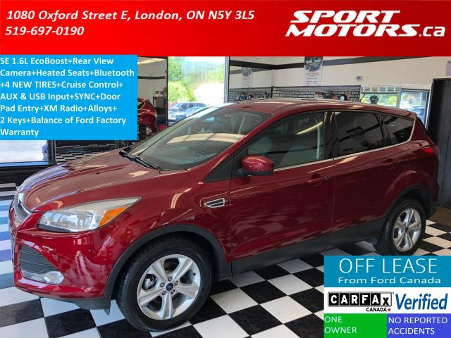 2015 Ford Escape SE+Camera+Heated Seats+Bluetooth+New Tires