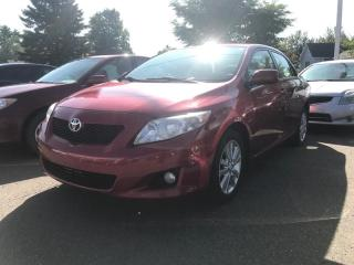 Used 2010 Toyota Corolla LE for sale in Québec, QC