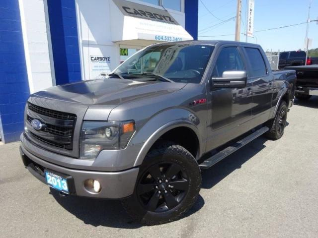 2013 Ford F-150 FX4 Luxury, Nav, Sunroof, Leather, 402A Pkg