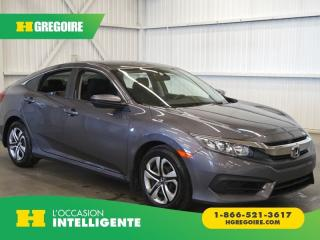Used 2017 Honda Civic LX CAMÉRA-GR for sale in St-Léonard, QC