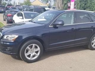 Used 2011 Audi Q5 2.0L PREM; LEATHER, SUNROOF, HEATED SEATS AND MORE for sale in Edmonton, AB