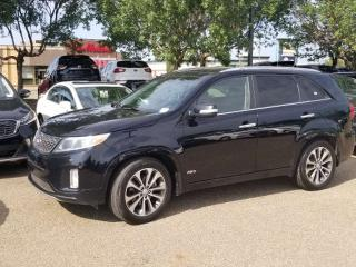 Used 2014 Kia Sorento SX; LOADED, NAV, BACKUP CAM, LEATHER, SUNROOF AND MORE for sale in Edmonton, AB