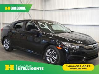 Used 2016 Honda Civic LX CAMÉRA-GR for sale in St-Léonard, QC