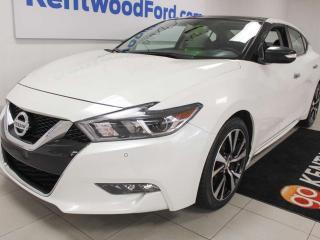 Used 2018 Nissan Maxima SL FWD with NAV, sunroof, heated power leather seats, heated steering wheel for sale in Edmonton, AB