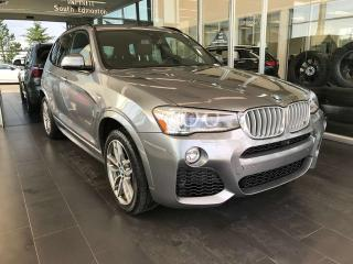 Used 2017 BMW X3 xDrive35i AWD, M-SPORT, ACCIDENT FREE, SKYROOF, NAVI, KEYLESS IGNITION for sale in Edmonton, AB