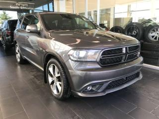 Used 2014 Dodge Durango R/T AWD SPORT UTILITY, POWER HEATED/VENTED LEATHER SEATS, NAVI, SUNROOF for sale in Edmonton, AB