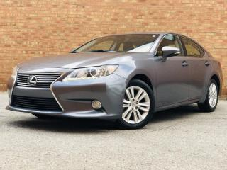 Used 2013 Lexus ES 350 TOURING| TEXT US|647.678.7778| BLUETOOTH|BACKUP CAMERA|HEATED MIRRORS|HEATED LEATHER SEATS|NAV|SUNROOF for sale in Mississauga, ON