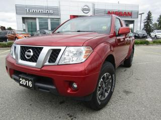 Used 2016 Nissan Frontier Pro-4X for sale in Timmins, ON