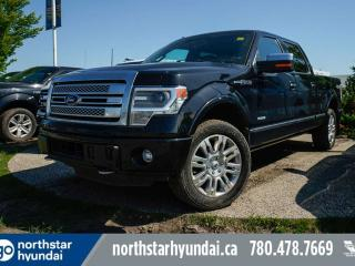 Used 2014 Ford F-150 PLATINUM/CREW/ECOBOOST/NAV/LEATHER/PANOROOF for sale in Edmonton, AB