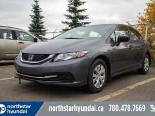 Used 2014 Honda Civic Sedan DX MANUAL/HEATEDSEATS/AC/CRUISE for sale in Edmonton, AB