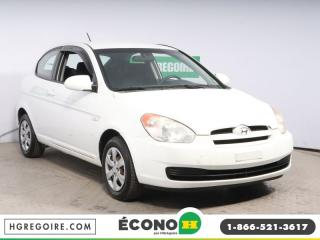 Used 2008 Hyundai Accent GL A/C GR ELECT for sale in St-Léonard, QC