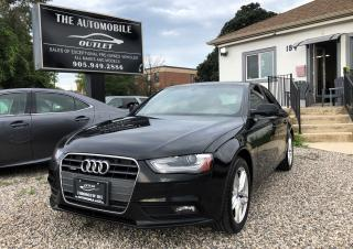 Used 2013 Audi A4 AWD QUATTRO SUNROOF LEATHER NO ACCIDENT for sale in Mississauga, ON