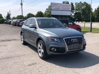 Used 2012 Audi Q5 Premium Plus S-LINE for sale in Komoka, ON