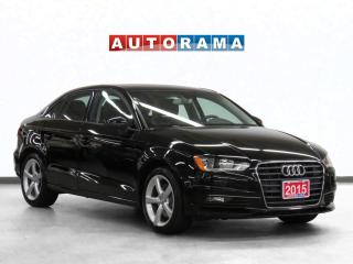 Used 2015 Audi A3 1.8T Leather Sunroof for sale in Toronto, ON