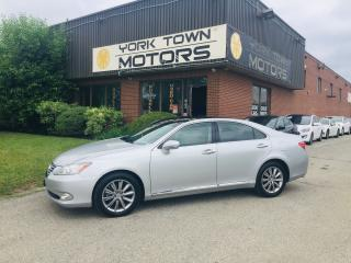 Used 2012 Lexus ES 350 UltraPremiumPkg/Nav/SunRoof/BackCam/HeatedSeats for sale in North York, ON