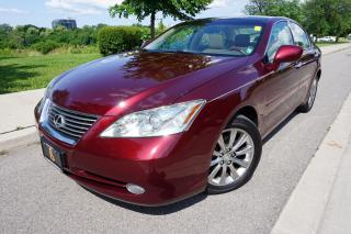Used 2007 Lexus ES 350 STUNNING COLOUR / ULTRA PREMIUM PACKAGE / CLEAN for sale in Etobicoke, ON