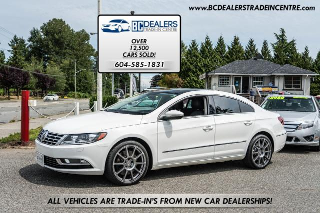 2013 Volkswagen Passat CC Highline 3.6 VR6, 4MOTION, Very Rare, Navi, Low K