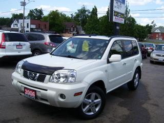 Used 2006 Nissan X-Trail SE,Auto,A/C,4X4,Fog lights,Sunroof,key less for sale in Kitchener, ON