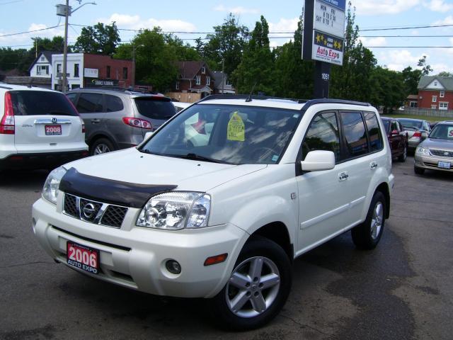 2006 Nissan X-Trail SE,Auto,A/C,4X4,Fog lights,Sunroof,key less