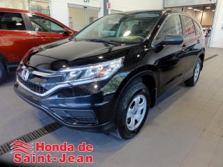 Used 2016 Honda CR-V AWD LX A/C Camera Sieges Chauffants for sale in St-Jean-Sur-Richelieu, QC