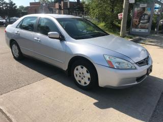 Used 2004 Honda Accord 4 CYLENDERS,AUTO,174K,3988,SAFETY+3YEARS WARRANTY for sale in Toronto, ON