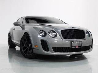 Used 2010 Bentley Continental Supersports W12   CARBON FIBER   DIAMOND STITCHING for sale in Vaughan, ON