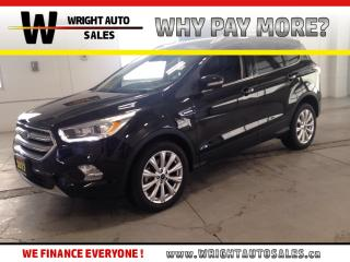 Used 2017 Ford Escape Titanium|LEATHER|MOONROOF|NAVIGATION|26,490 KMS for sale in Cambridge, ON