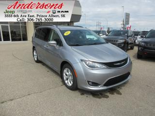 Used 2017 Chrysler Pacifica Touring-L Plus *Seats 8/Blu Ray* for sale in Prince Albert, SK