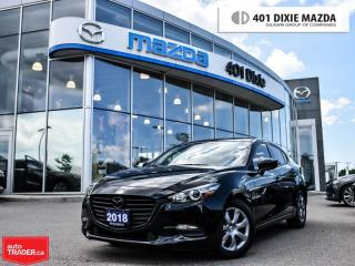 Used 2018 Mazda MAZDA3 Sport GX|ONE OWNER|1.99% FINANCE AVAILABLE|BACKUPCAMERA for sale in Mississauga, ON