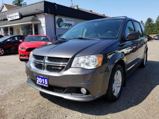 Used 2015 Dodge Grand Caravan Crew for sale in Bloomingdale, ON