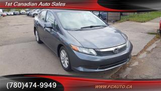 Used 2012 Honda Civic LX for sale in Edmonton, AB