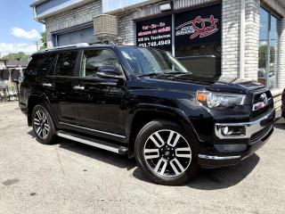 Used 2016 Toyota 4Runner 4RM 4 portes V6 LIMITED CUIR TOIT GARANT for sale in Longueuil, QC