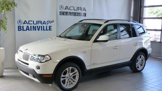 Used 2010 BMW X3 3.0i  traction intégrale for sale in Blainville, QC