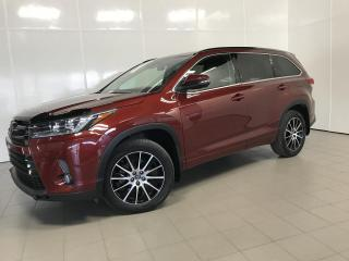 Used 2017 Toyota Highlander SE, À Traction Intégrale, A/C, CAM for sale in Montréal, QC