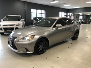 Used 2015 Lexus IS 250 F-SPORT*AWD*RED INTERIOR*CERTIFIED* for sale in North York, ON