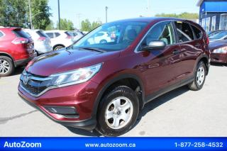 Used 2015 Honda CR-V LX **AWD** FINANCEMENT FACILE !! for sale in Laval, QC