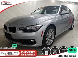 Used 2016 BMW 3 Series XDRIVE* AWD* CUIR* MEMOIRE DE SIEGE* for sale in Québec, QC