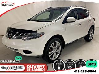 Used 2013 Nissan Murano LE* AWD* TOIT PANO* HITCH* CAMERA* for sale in Québec, QC