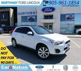 Used 2013 Mitsubishi RVR GT | AWD | NAV | HTD LEATHER | PANOROOF| for sale in Brantford, ON