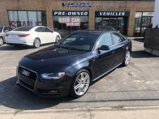 Used 2013 Audi A4 2013 Audi/NAVIGATION/QUATTRO for sale in North York, ON