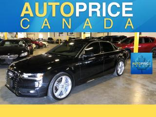 Used 2015 Audi A4 2.0T Progressiv plus S-LINE|MOOROOF|NAVIGATION for sale in Mississauga, ON