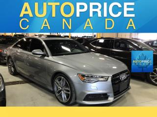 Used 2017 Audi A6 3.0T Technik TECHNIK|NAVI|S-LINE|LEATHER for sale in Mississauga, ON