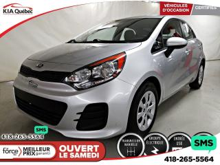 Used 2016 Kia Rio LX* AUDIO AU VOLANT* GROUPE ELECTRIQUE* for sale in Québec, QC
