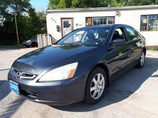 Used 2005 Honda Accord Sdn EX V6,Certified for sale in Oshawa, ON