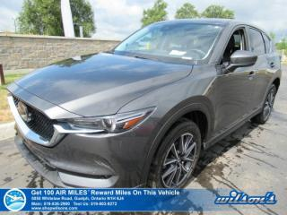Used 2017 Mazda CX-5 GT AWD - Leather, Sunroof, Navigation, Blind Spot Monitor, Rear Camera, Bose Audio, & more! for sale in Guelph, ON